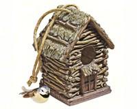 Backwoods Cottage Bird House-DTHF330888