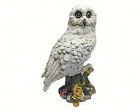 White Owl Statue-DTQM12509