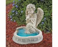 Angel of Peace Reflecting Pool Sculpture-DTSH944265