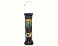 ONYX 2.75 in dia. 12 in Tube 2 port Nyjer Seed Feeder withremovable Base-DYCC12N