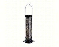 ONYX 2.75 in dia. 12 in Tube 2 port Sunflower/Mixed Seed Feeder withremovable Base-DYCC12S