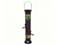 ONYX 2.75 in dia. 18 in Tube 4 port Nyjer Seed Feeder withremovable Base-DYCC18N
