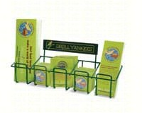 Counter Display Rack with25 DCAL, 10 Pins, 15 Buttons and 25 Bookmarks-DYMAWDRACK