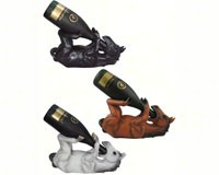 Horse Wine Holders Assorted Designs-DWKHD30885