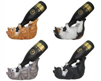 Cat Wine Holder Assorted Styles-DWKHD36124