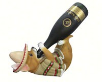 Poncho Vino Wine Holder-DWKHD37034