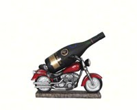 Easy Rider Motorcycle Wine Holder-DWKHH30573
