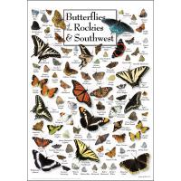 Butterflies of the Rockies and Southwest Poster-LEWERSBRSPT242