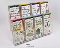 8 Pocket 2 Tiered Display (Folding Guides)-LEWERSCS8PFG
