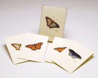 Butterfly Notecard Assortment II (2 each of 4 styles)-LEWERSNC16