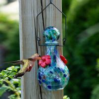 LunaLite Vase Hummingbird Feeder - Saturn-EV3501B