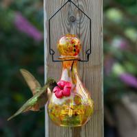 LunaLite Vase Hummingbird Feeder - Mercury-EV3501P