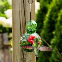 LunaLite  Globe Hummingbird Feeder - Green-EV3502G