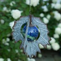 Vintage Illuminarie Leaf Hanging Spinner-EV4251GW