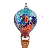 LunaLite Balloon Lantern - Aqua/Red-EV4713