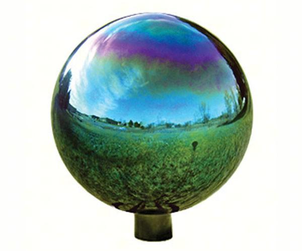 10 inch Arco Iris Standard Gazing Globe