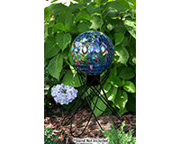 10 inch Translucent Peacock Mosaic Globe-EV8243