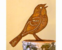 Vesper Sparrow Bird Silhouette-ELEGANTB710