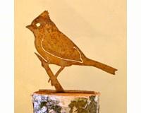 Titmouse Bird Silhouette-ELEGANTB712