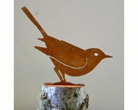 Brown Thrasher Bird Silhouette-ELEGANTB722