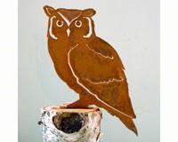Screech Owl Bird Silhouette-ELEGANTB727