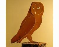 Barn Owl Bird Silhouette-ELEGANTB728