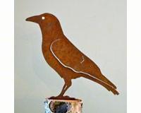 Crow Bird Silhouette-ELEGANTB730
