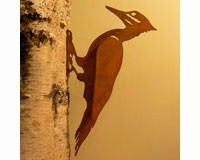 Pileated Woodpecker Bird Silhouette-ELEGANTB732