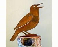 Meadowlark Bird Silhouette-ELEGANTB734