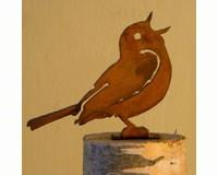 Singing Warbler Bird Silhouette-ELEGANTB738