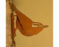 Nuthatch Bird Silhouette-ELEGANTB739