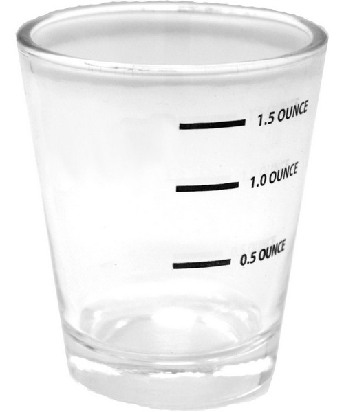 Measured Shot Glass Carded
