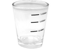 Measured Shot Glass Carded-EE114