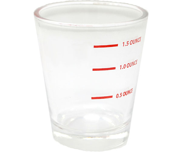 Measured Shot Glass Bulk