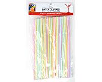 Plastic Straws - 100 pc-EE121