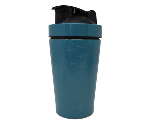 Blue Stainless Steel Shaker withMixing Ball