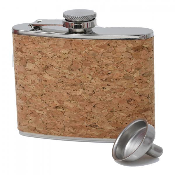 6 oz Cork Flask
