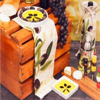 Gourmet Assortment Olive Oil & Cheese Boards-GOURMETASST