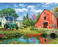 The Red Barn Puzzle 1000 pcs-EURO60005526