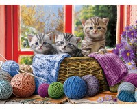Knittin' Kittens Puzzle 500 pc-EURO85005500