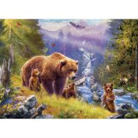 Grizzly Cubs Puzzle 500 pcs-EURO85005546