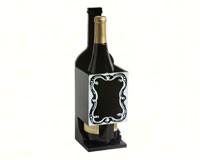 Chalkboard Wine Bottle Holder-EG2BHS159