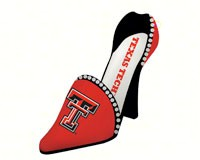 Texas Tech Shoe Wine Bottle Holder-EG2BHS963