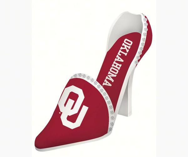Oklahoma Sooners Shoe Wine Bottle Holder