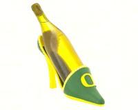Oregon Ducks Shoe Wine Bottle Holder-EG2BHS986
