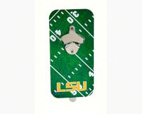 LSU Magnetic Bottle Clink 'N Drink Bottle Opener-EG3CND921
