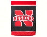 Nebraska Cornhusker Silk Screen Regular Flag-EG59619B