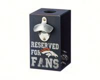 Denver Broncos Bottle Opener Cap Caddy-EG8BC3809A