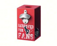 Houston Texans Bottle Opener Cap Caddy-EG8BC3812A