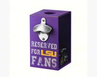 LSU Bottle Opener Cap Caddy-EG8BC921A